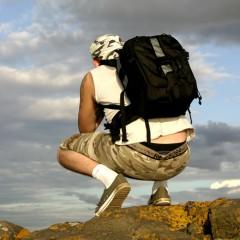 Leven uit een backpack