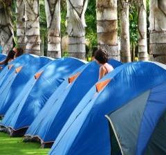 Checklist voor naar de camping