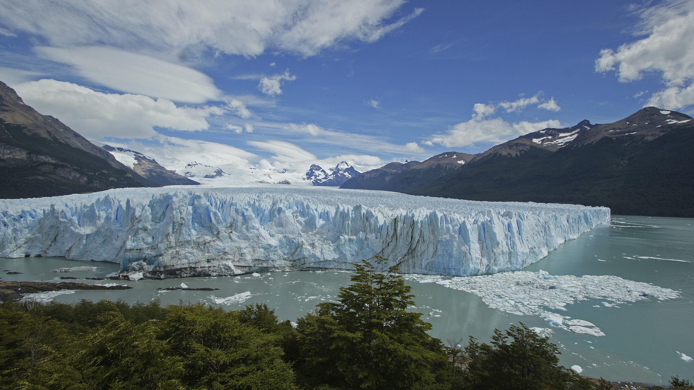 Glacier Perito Moreno, Argentinie