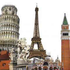 De top 5 vakantielanden in Europa