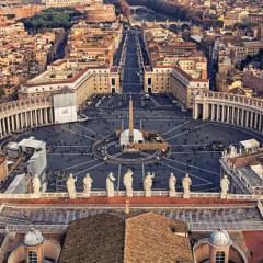 Een trip naar Vaticaanstad